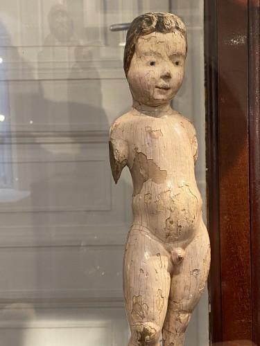 Antiquités - Child Jesus, Malines 16th century