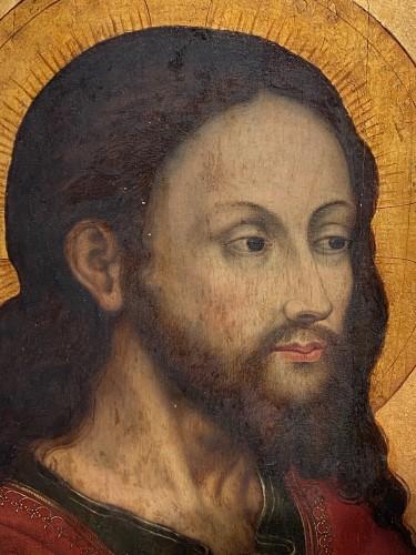 <= 16th century - Christ &#039;Salvator Mundi (Flandres, 16th century)