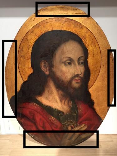 Christ 'Salvator Mundi (Flandres, 16th century) - Renaissance