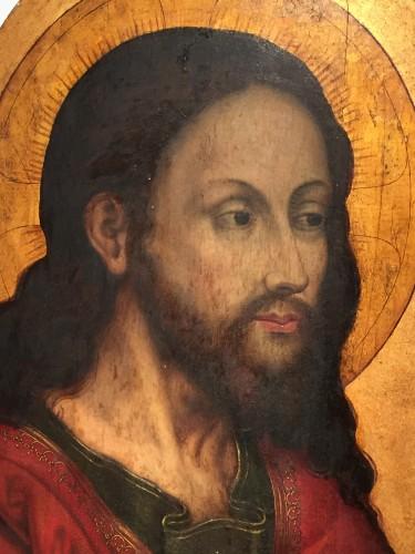 Antiquités - Christ 'Salvator Mundi (Flandres, 16th century)