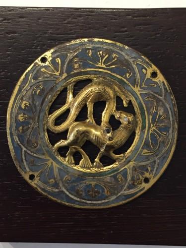 Antiquités - Large Medaillon (Limoges, 1210-1220)