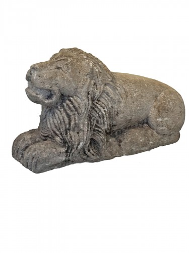 Limestone Lion, Italy 17th century