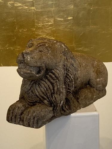 Limestone Lion, Italy 17th century - Renaissance