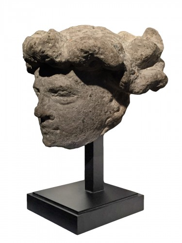 Head of a youth (Germany, early 15th century)