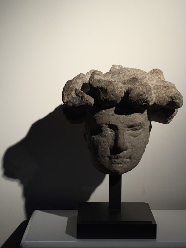 Sculpture  - Head of a youth (Germany, early 15th century)