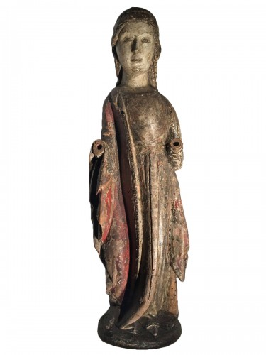 Female Saint (Italy, 15th century)