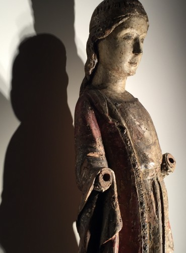 Sculpture  - Female Saint (Italy, 15th century)