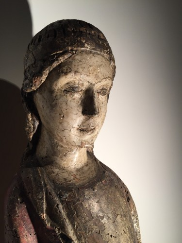 11th to 15th century - Female Saint (Italy, 15th century)