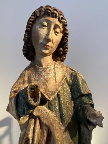 Saint John (Germany, XVIth cent) - Religious Antiques Style Renaissance