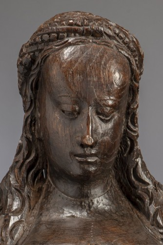 Religious Antiques  - Reliquary Bust (Flanders, ca 1500)