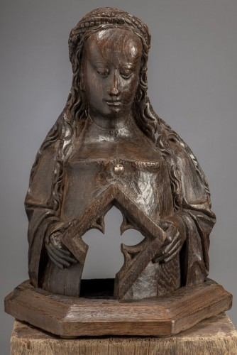 <= 16th century - Reliquary Bust (Flanders, ca 1500)