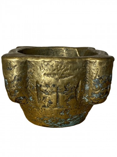 Brass Mortar, France 16th century
