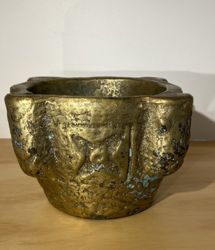 Collectibles  - Brass Mortar, France 16th century