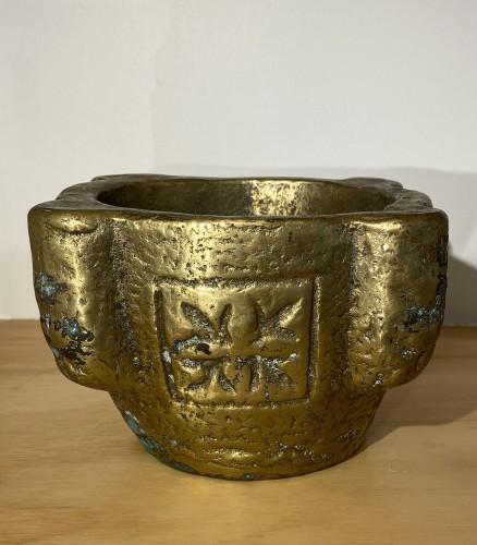Brass Mortar, France 16th century -