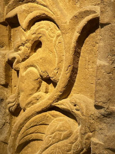 Stele with Griffin and Bird (Italy, 13th cent) - Middle age