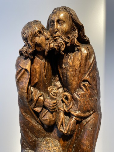 The Kiss of Judas (Germany, 15th cent) - Religious Antiques Style Middle age