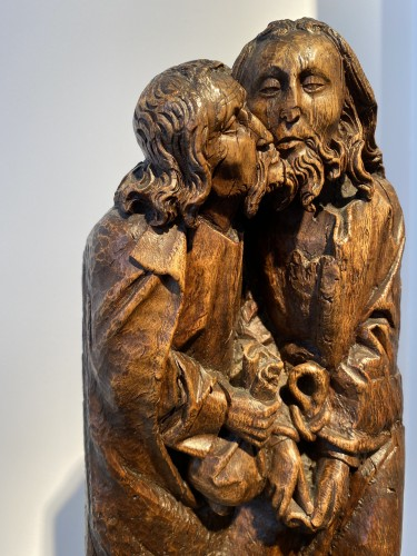 Middle age - The Kiss of Judas (Germany, 15th cent)