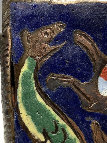 Objects of Vertu  - Enamel Belthook, France circa 1200