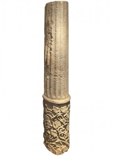Large fragment of a Column, France 13th century