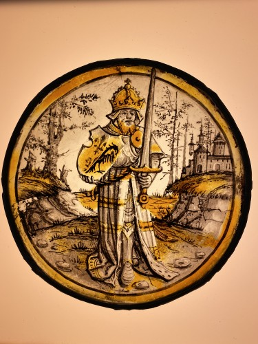 Renaissance - Roundel with Emperor Charlemagne, Germany, earl 16th century