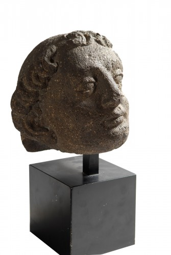 Head of a Monk (France, 15th century)