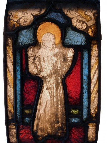 Saint Francis Stained Glass (France, 16th cent)