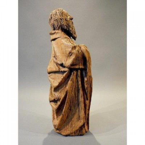 Bearded Holy Man, Flanders circa 1500 -