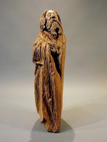 <= 16th century - Bearded Holy Man, Flanders circa 1500