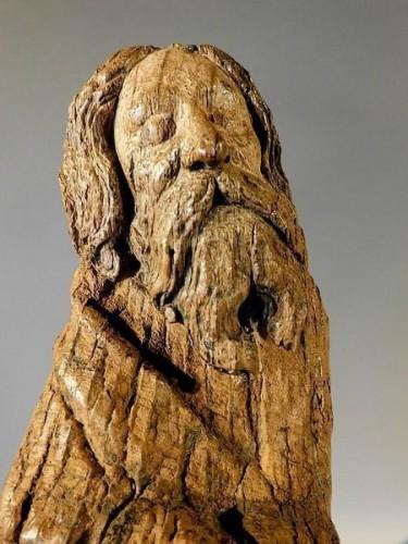 Bearded Holy Man, Flanders circa 1500 - Renaissance
