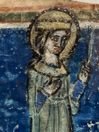 Female Martyr (Italy, 1270-1280) -