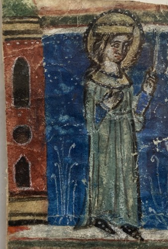 11th to 15th century - Female Martyr (Italy, 1270-1280)