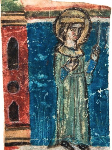 Antiquités - Female Martyr (Italy, 1270-1280)