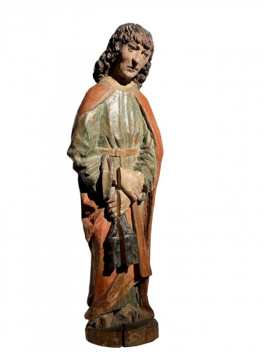 Saint John the Evangelist (Bohemia, lime, 15th)