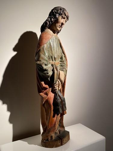 Religious Antiques  - Saint John the Evangelist (Bohemia, lime, 15th)