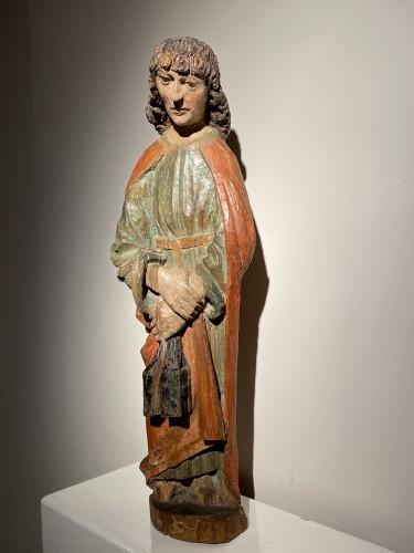 Saint John the Evangelist (Bohemia, lime, 15th) -
