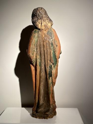 Saint John the Evangelist (Bohemia, lime, 15th) - Renaissance