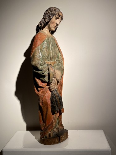 Antiquités - Saint John the Evangelist (Bohemia, lime, 15th)