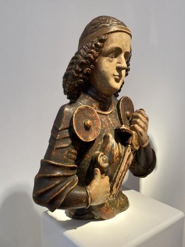 Saint Michael, Tyrol 15th century -
