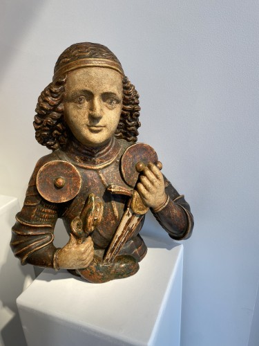 Saint Michael, Tyrol 15th century - Middle age