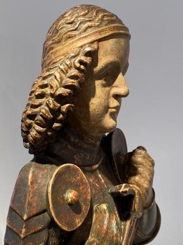 Antiquités - Saint Michael, Tyrol 15th century