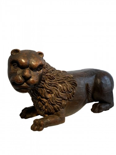Large Lion Bearer (Italy, ca 1500)