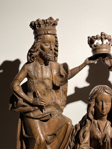<= 16th century - Coronation of the Virgin (Germany, 16th)