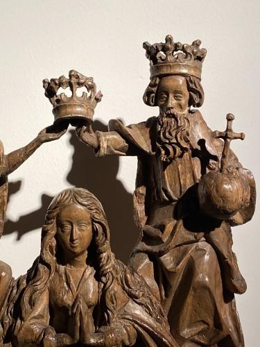 Coronation of the Virgin (Germany, 16th) - Renaissance