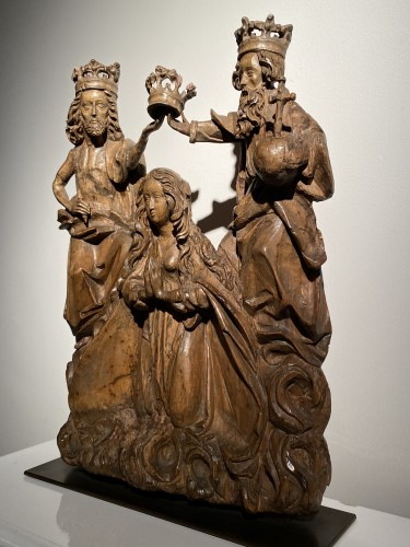 Antiquités - Coronation of the Virgin (Germany, 16th)