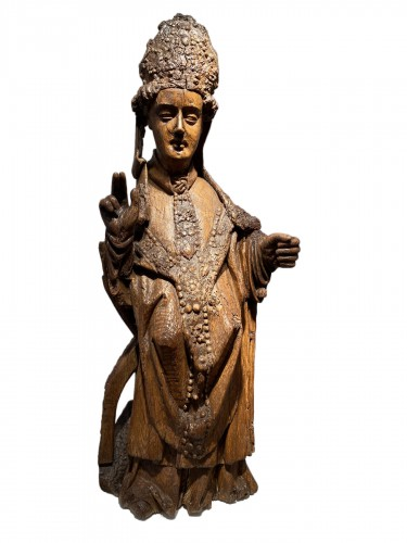 Blessing Bishop - France 15th century