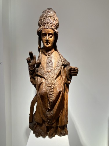 Blessing Bishop - France 15th century -