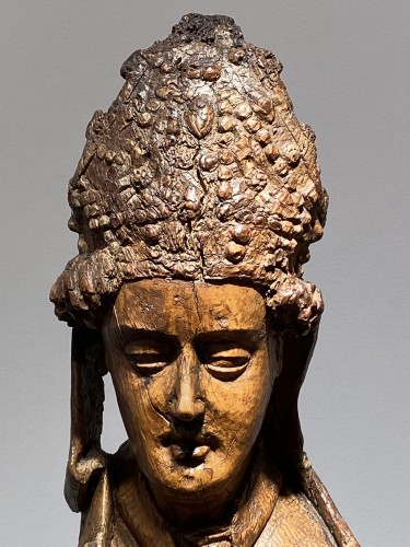 11th to 15th century - Blessing Bishop - France 15th century