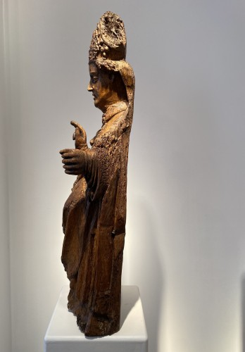 Blessing Bishop - France 15th century - Middle age