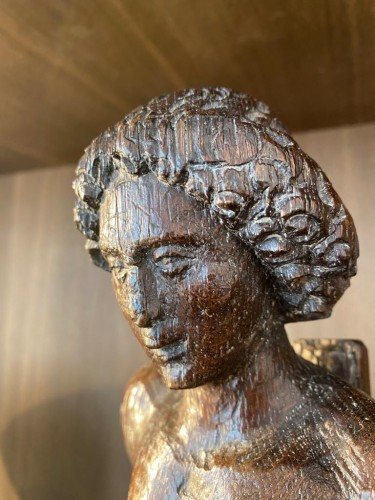 Saint Sebastian (Flanders, 16th) - Sculpture Style Renaissance