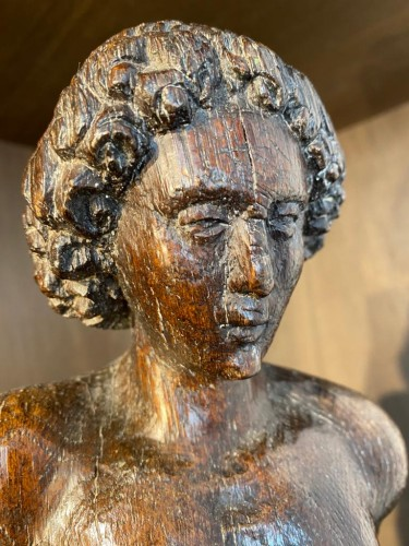 Sculpture  - Saint Sebastian (Flanders, 16th)